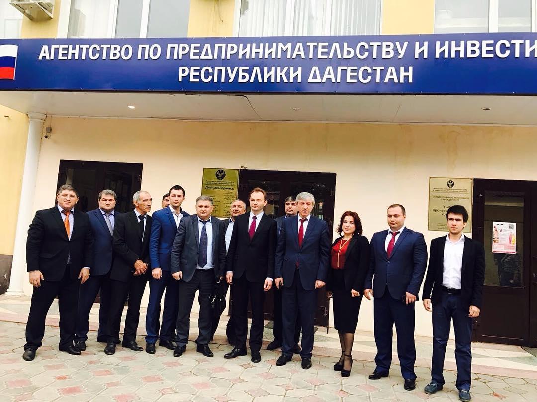 УПК посетил директор Департамента развития малого и среднего предпринимательства и конкуренции Минэкономразвития РФ